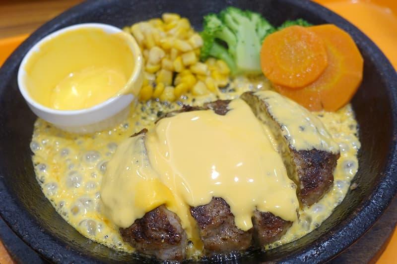 いきなりステーキ チーズハンバーグ