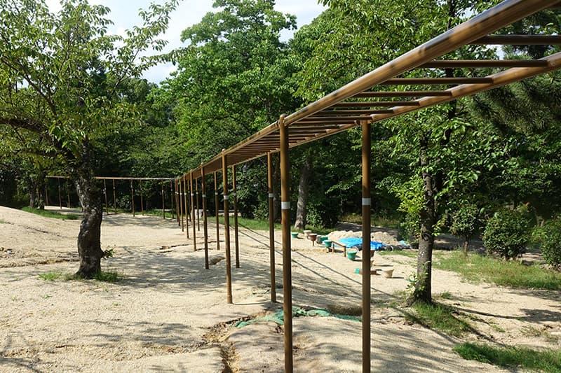 八幡市のさくら近隣公園