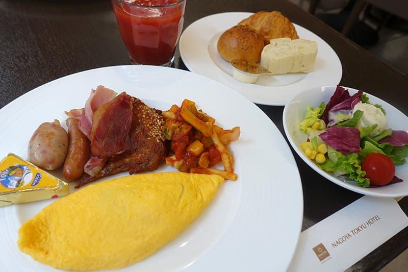 名古屋東急ホテルの朝食