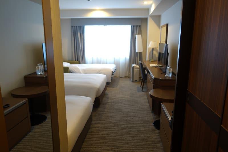 名古屋東急ホテルの客室