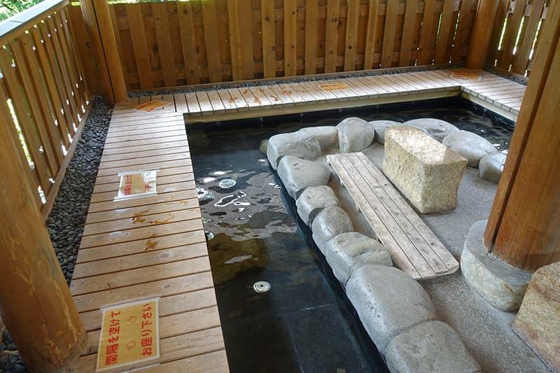 下呂温泉合掌村の足湯