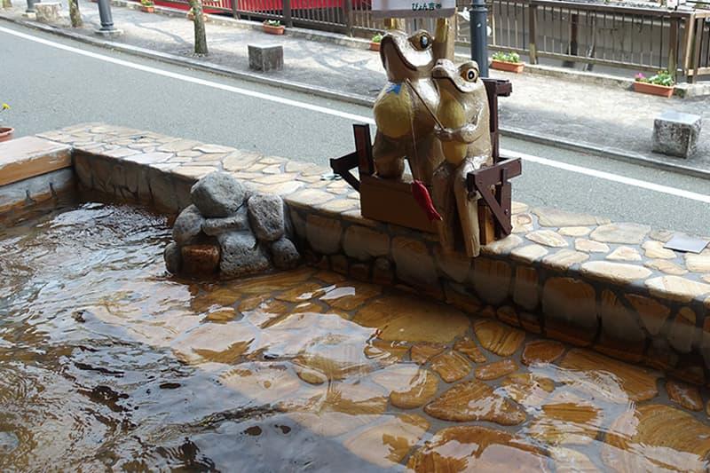 下呂温泉の足湯