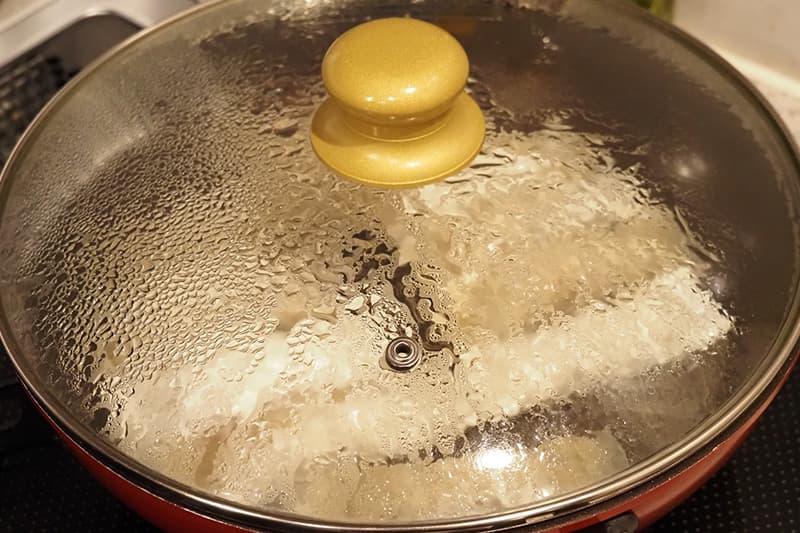 棒餃子の焼き方
