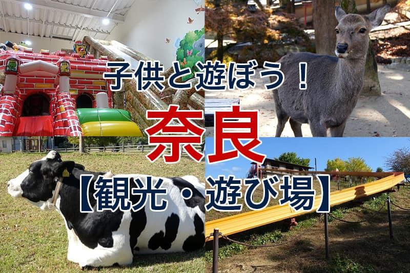 子供と遊ぼう 奈良 観光 遊び場