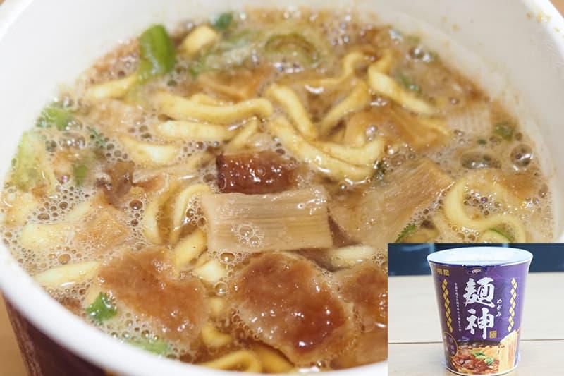 明星 麺神カップ 神太麺 旨 醤油