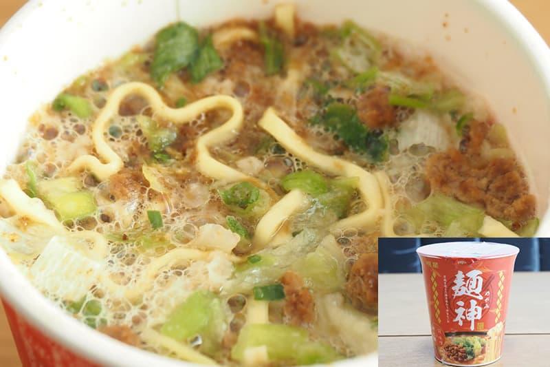 明星 麺神カップ 神太麺 旨 味噌