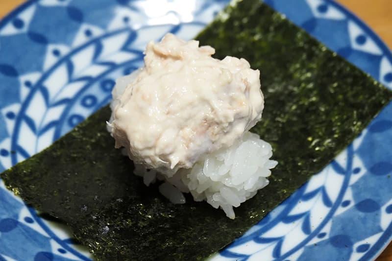 ツナの手巻き寿司